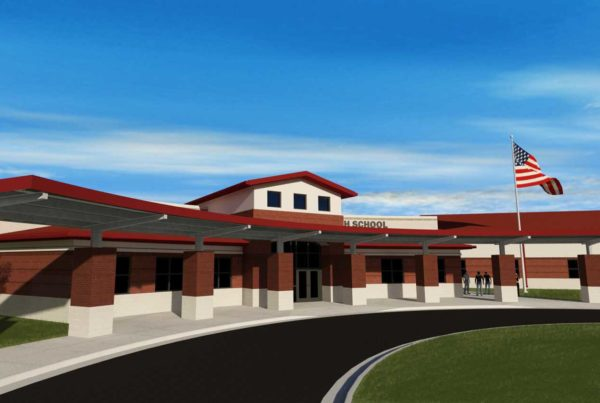 Conceptual rendering of Central High School