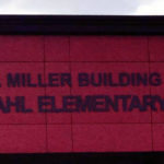 Signage installed at the new Eliza Miller Building at JF Wahl Primary