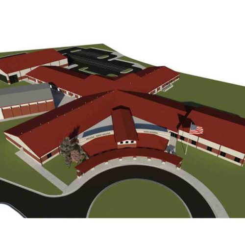 Conceptual rendering of the new Central High School.